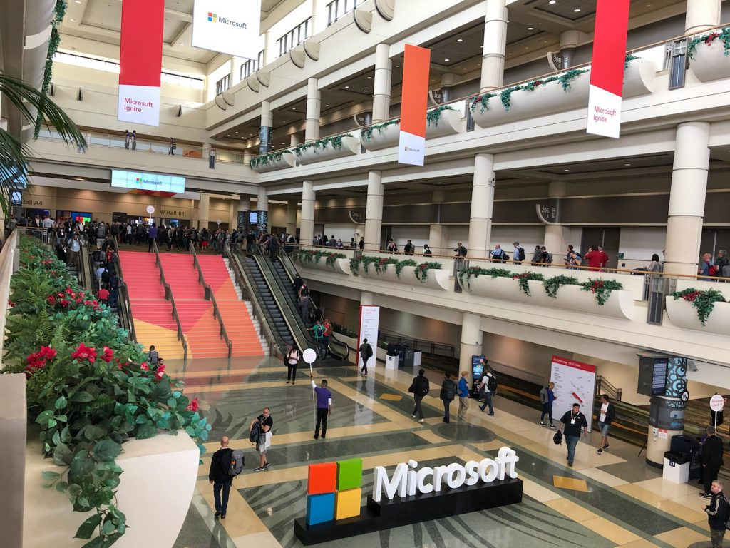 Microsoft ignite conference
