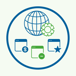 With Single Sign-On, your employees only have to login once to access all of their applications